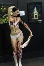 Victoria Rose Brains Act Zombie